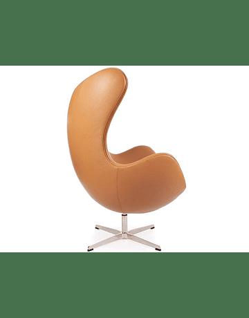 Silla sillon Huevo (Egg chair) Arne Jacobsen Ecocuero Arena*