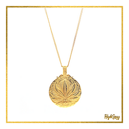 Leaf medal Gold