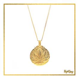 Leaf medal Gold