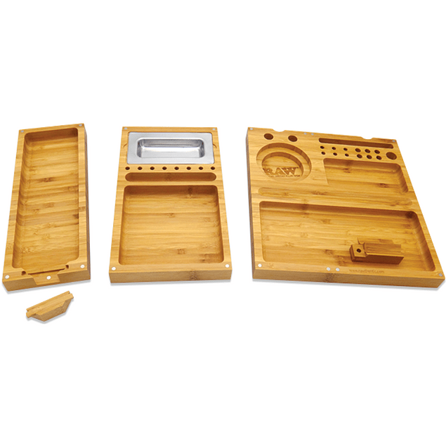 RAW Triple Backflip Rolling Tray