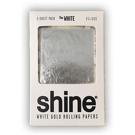 Shine® White Gold 2 Sheet pack