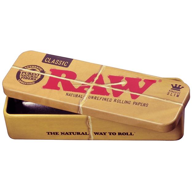 Caja metálica RAW® Kingsize