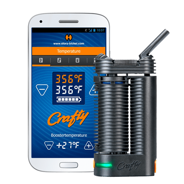 Vaporizador Crafty - Storz and Bickel