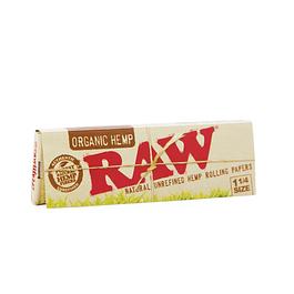 Papelillos Organic Hemp 1 1/4 RAW®