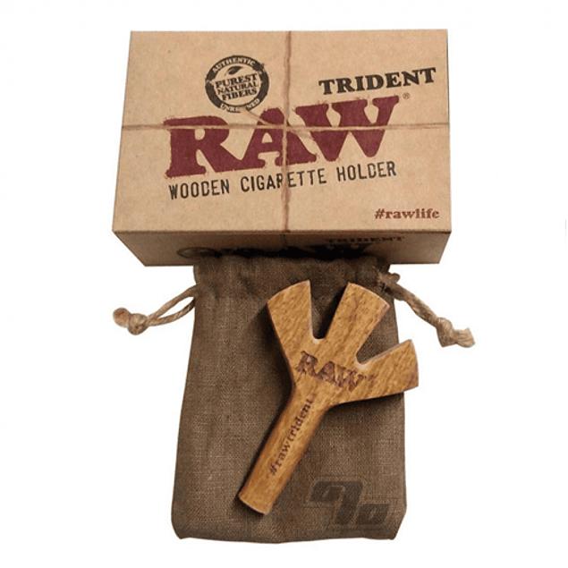 RAW Tridente de madera