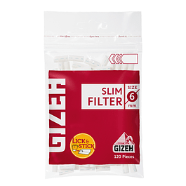 Filtros Gizeh Slim 150 unidades