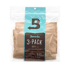Pack 3 Boveda 67gr 62% controlador de humedad