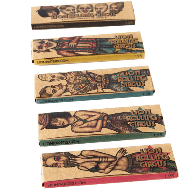 Unbleached 1 1/4 Lion Rolling Circus