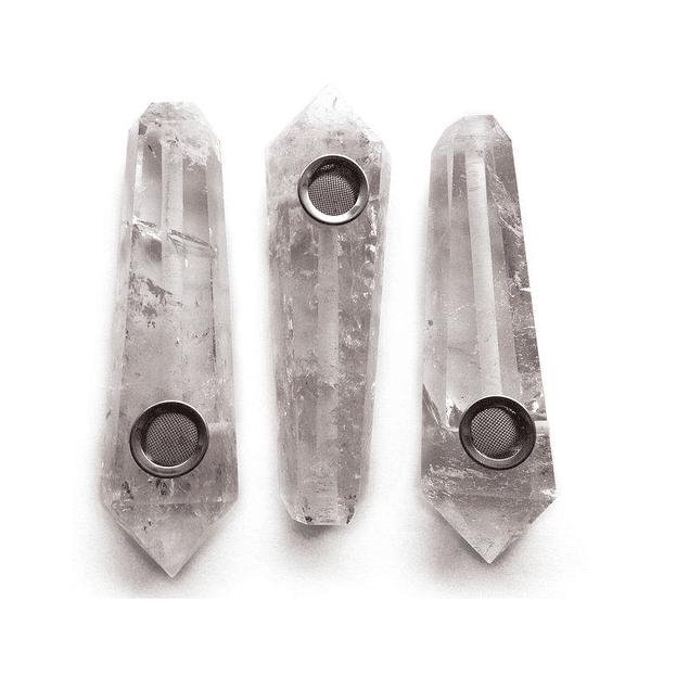 Crystal Pipe - Quartz