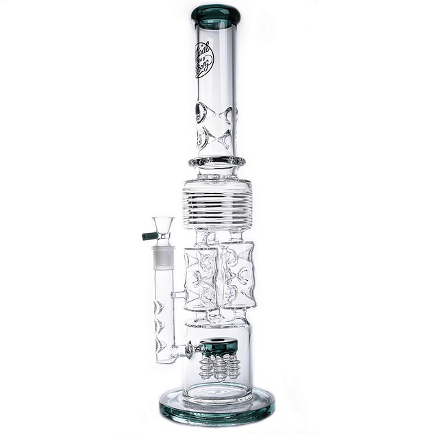 Triple Bubbler Bong