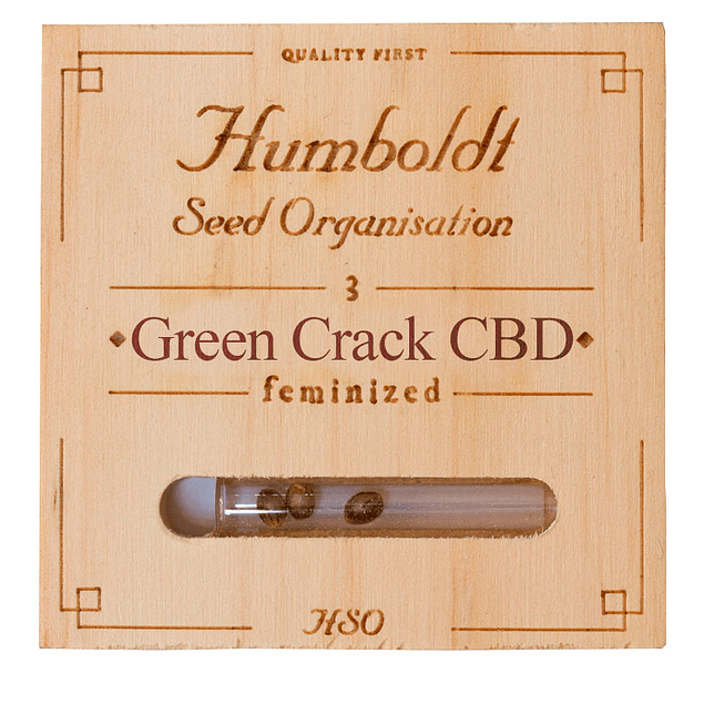 Green crack CBD x3