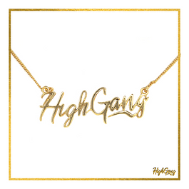 HighGang Pendant Gold
