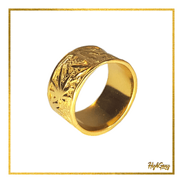 Scrub ring Gold