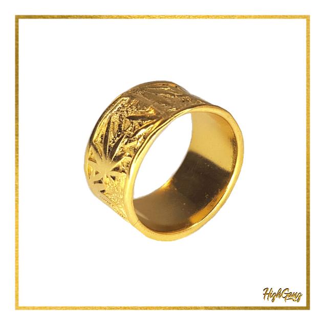 Scrub ring Gold
