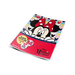 Block Carta Cuadros Disney Minnie