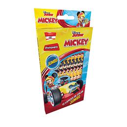 Colores Jumbo Personajes x 12 Unidades Mickey