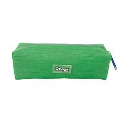 Cartuchera Unicolor Grande Verde