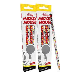 Lápiz Personajes x 6 Unidades Mickey