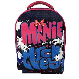 Morral Junior Disney Minnie Fucsia
