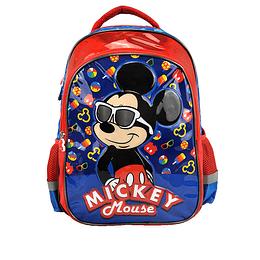 "Morral Niño 16.5"" Disney Mickey con Gafas"