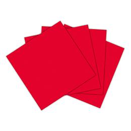 Servilleta Pequeña Rojo X 20 Unidades