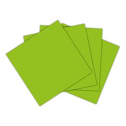 Servilleta Pequeña Verde Lima X 20 Unidades