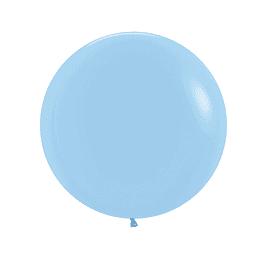 Globo R-24 Pastel Mate Azul x 1