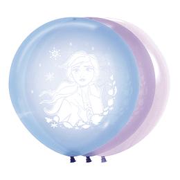 Globo R-24-Frozen-II-Cristal Pastel Colores Surtidos