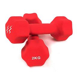 Mancuerna Neopreno 2 Kg Zoom Fitness x 1 Unidad
