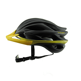 Casco Cliff Race Negro/Dorado