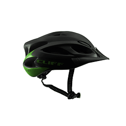 Casco Cliff Sport 2.0 Night Negro/Verde