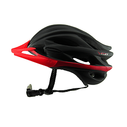 Casco Cliff Race Negro/Rojo Unive Fit