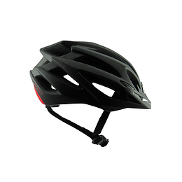 Casco Cliff Elite 2.0 Negro/Rojo