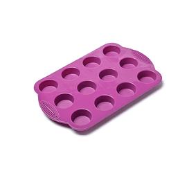 Molde Silicona P/Mini Ponqué Press 30 X 19.5 X 2 Cm Fucsia
