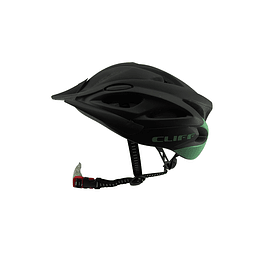 Casco Cliff Sport 2.0 Night Negro/Menta