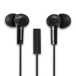 Audífono C/Micrófono Esenses Negro