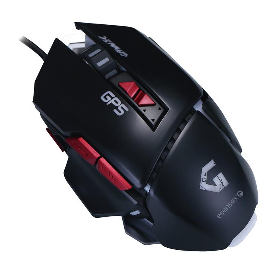 Mouse Profesional Para Juegos 8 Botones