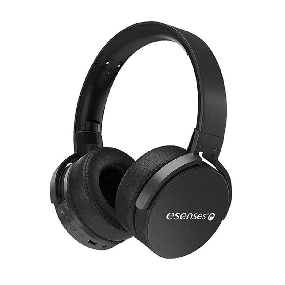 Audífono Bluetooth Tipo Diadema Esenses Negro