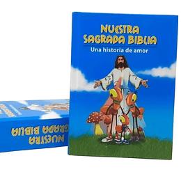 Nuestra Sagrada Biblia Niños Azul