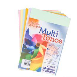 Papel Multiusos De Colores Oficio