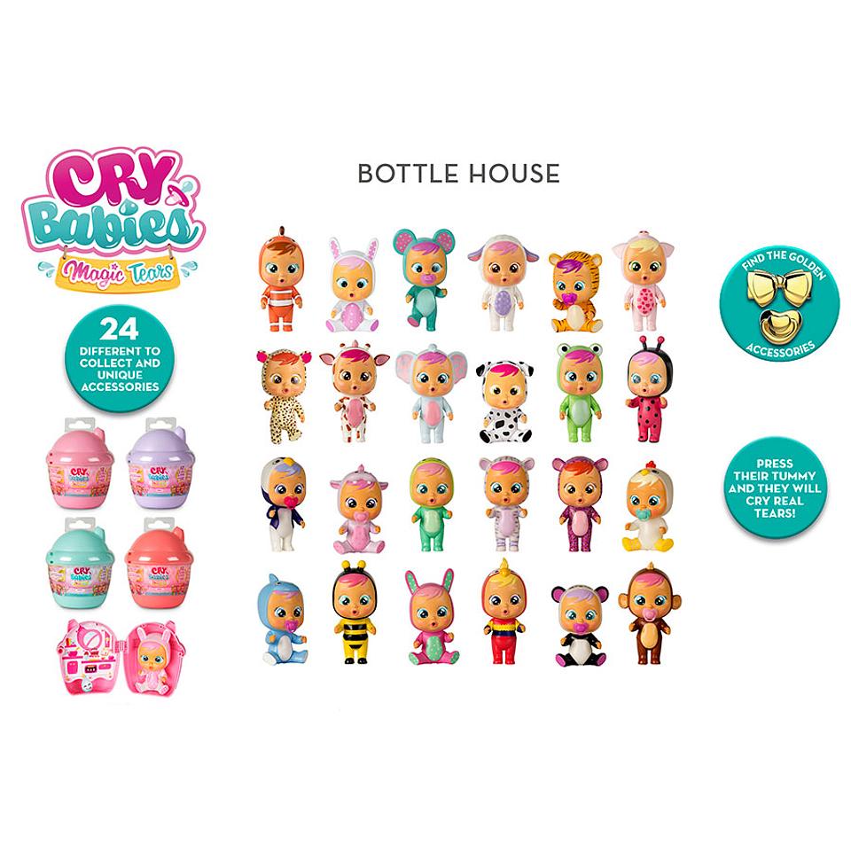 Cry Babies LM Bottle House x 1 Unidad S1