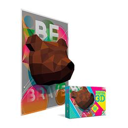 Rompecabezas X 500 Piezas 3D Oso