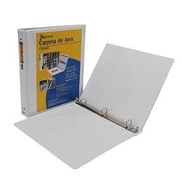 """Carpeta Catalogo 0.5"""" Blanca"""