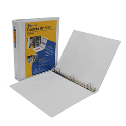 """Carpeta Catalogo 1.5"""" Blanca"""