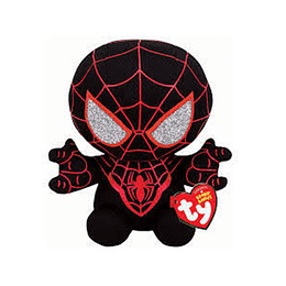Peluche Ty Beanies Marvel Miles Morales Spiderman Regular