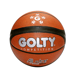 Balón Baloncesto # 7 All Stars Golty
