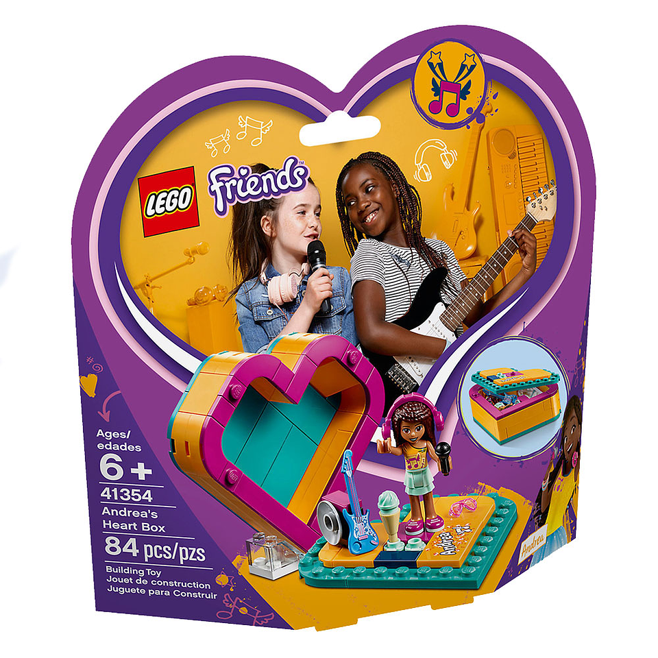 Lego Friends Corazon De Andrea