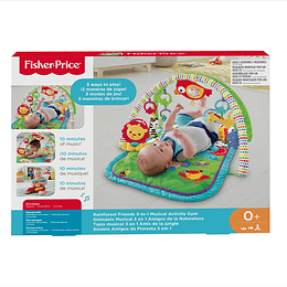 Fisher Price Gimnasio Musical Naturaleza