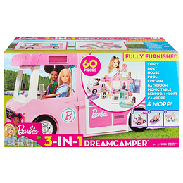 Barbie Camper De Barbie 3 En 1