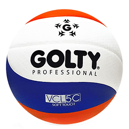 Balón Voleyboll Profesional Azul / Rojo
